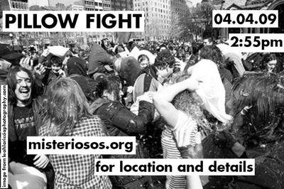 Pillow Fight Boston